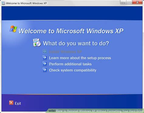 format hard disk without recovery how to reinstall windows xp without formatting your hard drive