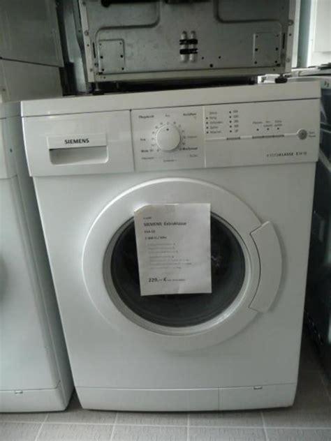 siemens waschmaschine extraklasse siemens extraklasse e14 18 waschmaschine mit 1400