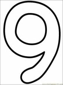 numbers 9 coloring free numbers coloring pages coloringpages101