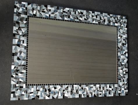 how to frame a bathroom mirror with mosaic tiles mosaic around bathroom mirror get cheap crushed tile