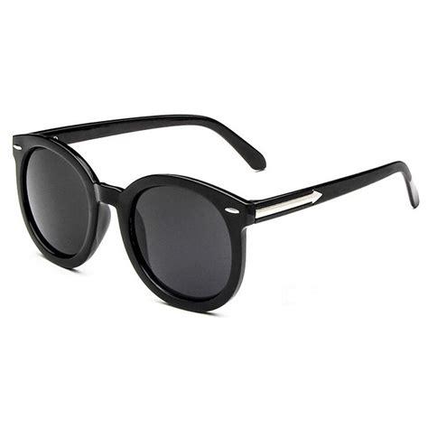 Kacamata Hitam kacamata hitam vintage uv400 black gray