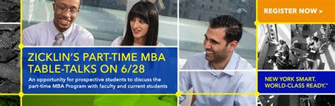 York Part Time Mba by Baruch College The City Of New York Cuny