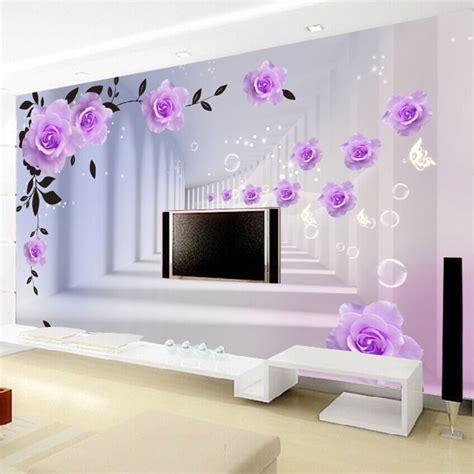 Online Get Cheap Purple Wallpaper Bedroom  Aliexpress.com