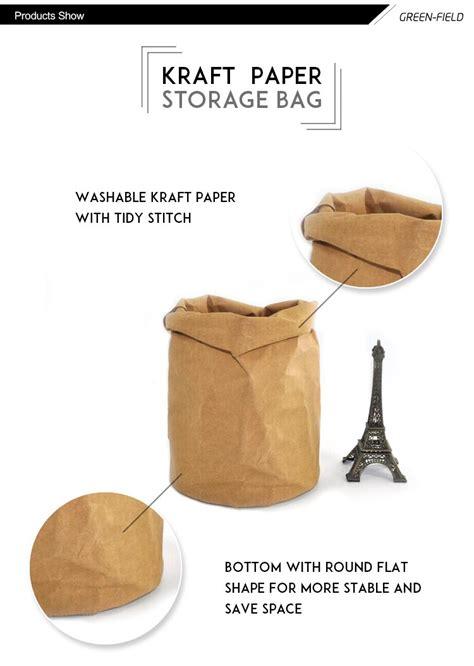 washable paper bag pattern custom design washable kraft paper bag washable paper bag