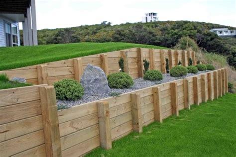 Design Wood Retaining Wall