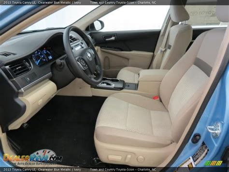 2013 Toyota Camry Interior Ivory Interior 2013 Toyota Camry Le Photo 8
