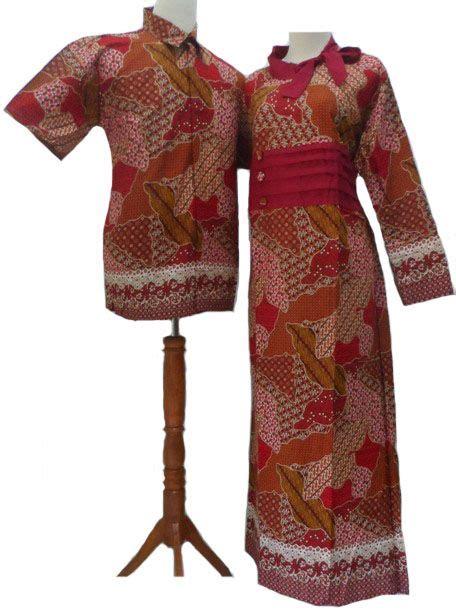 Baju Batik Batik Ayusari Gamis Batik Sogan 2 gamis batik merah model baju