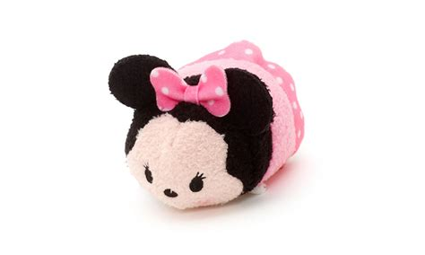 Boneka Tsum Tsum Disney Minnie Mouse minnie pink dress tsum tsum mini my tsum tsum