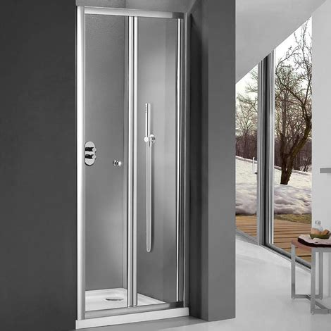 porta a soffietto per doccia porta doccia per nicchia da 100 cm apertura soffietto