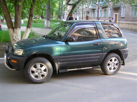 Toyota Rav4 Specs 1995 Toyota Rav4 Specs
