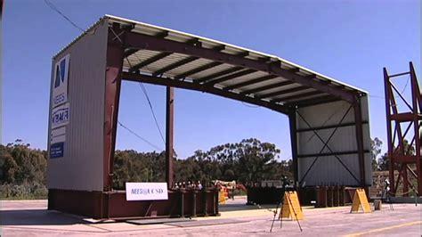 Carports Metal Buildings by Building It Better Earthquake Testing Metal Buildings