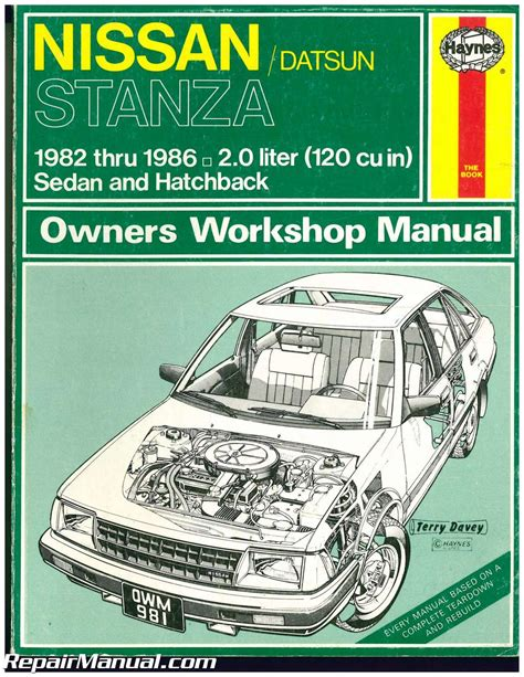 what is the best auto repair manual 1986 ford f series seat position control used haynes datsun nissan stanza 1982 1986 auto repair manual