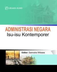 Buku Administrasi Publik Teori Dan Aplikasi Governance sosial politik penerbit graha ilmu makassar