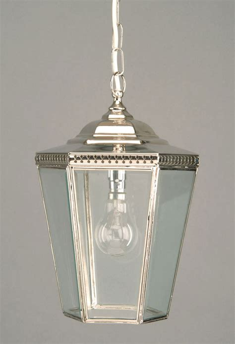 Pendant Porch Light Chelsea Georgian Period Hanging Outdoor Porch Lantern Nickel N435