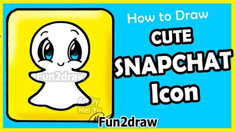 how to doodle in snapchat how to draw snapchat logo step by step facts