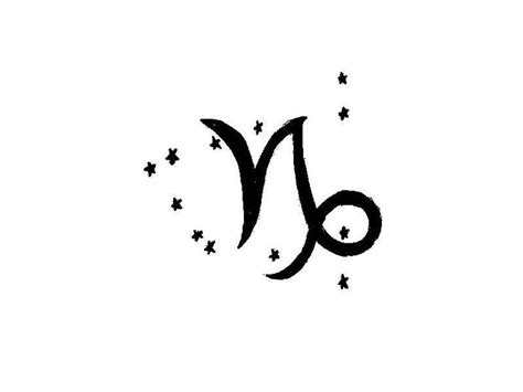 tribal capricorn symbol tattoo capricorn symbols capricorn symbol pictures to