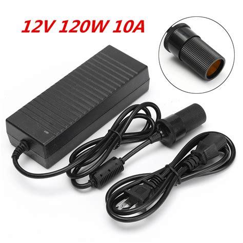 Adaptor 12v 1 5ere 1 12v 120w ac to dc power adapter converter car cigarette lighter socket charger sale banggood
