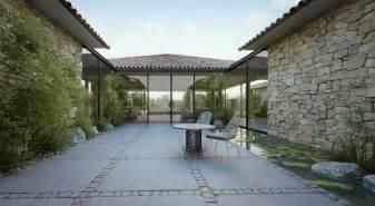 Modern Cottage Design Modern Cottage Courtyard Design Roof Olpos Design
