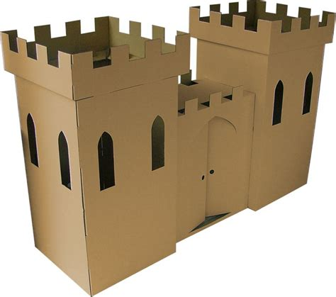 Make A Paper Castle - 25 best ideas about cardboard castle on