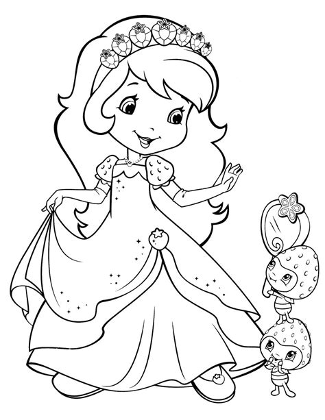 strawberry shortcake christmas coloring pages coloring pages