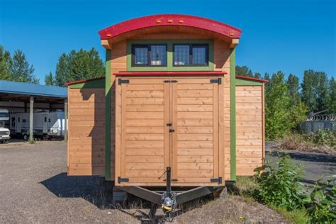 tiny house with slide out expanding tiny house with slide outs that will amaze you