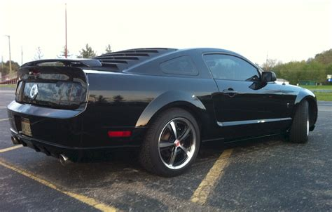 2007 mustang gt black 2007 ford mustang gt coupe mustangattitude