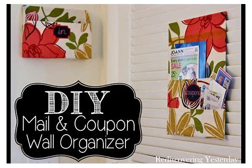 wall coupon holder