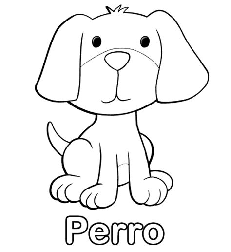 imagenes espirituales para niños perro para colorear 4 animales omnivoros