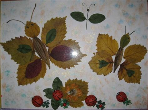 autumn craft projects 15 cool applique ideas from autumn leaves kidsomania