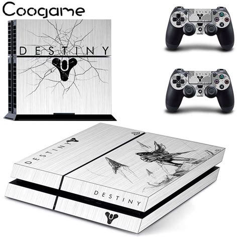 destiny console destiny custom sticker for sony ps4 skin console 2 pads