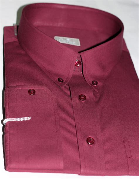Handmade Dress Shirts - burgundy dress shirts s custom burgundy dress shirts