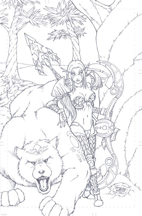 wood elf coloring pages sketches of wood elves coloring pages