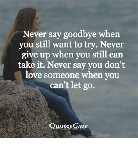 Is It When You Cant Say Goodbye by 25 Best Memes About Never Say Goodbye Never Say Goodbye
