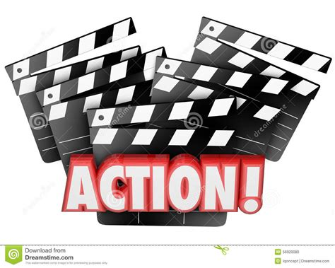 action film quiet drama scene action movie clapper boards acting direction producing