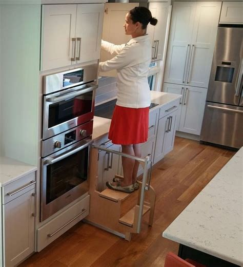 Cabinet Step Stool by Foldable Stairs For Step 180 Cabinet Step