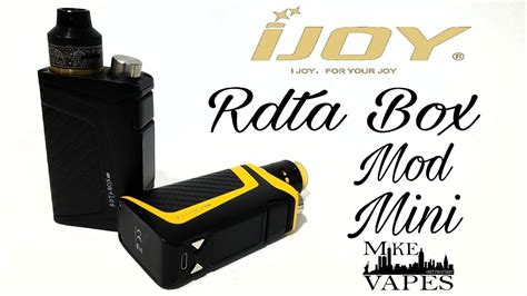 Box Mod Giveaway - ijoy rdta box mod mini giveaway mike vapes youtube