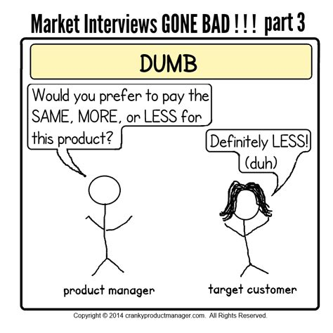Bad Or Question Market Interviews Bad Ooh With Comics