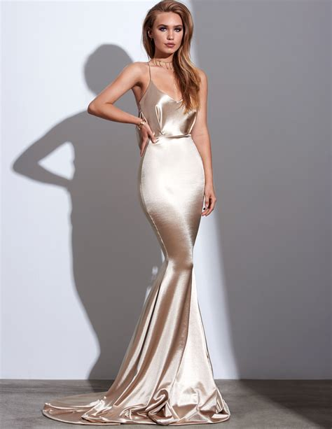 Dress Silk gemeli power satin barth 233 l 233 my for angelika