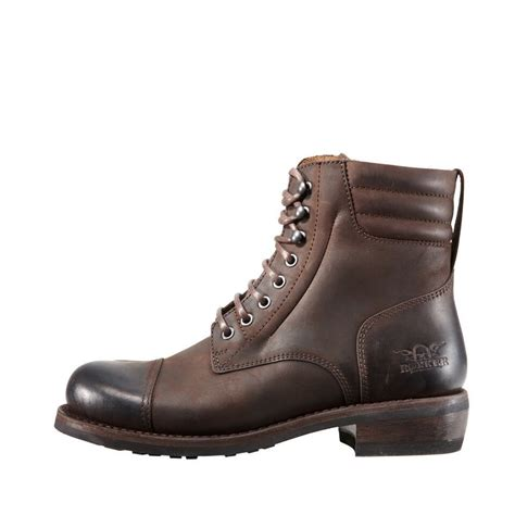 The Boots Of by Rokker Motorcycle Boots Racer 8 Brown 24helmets