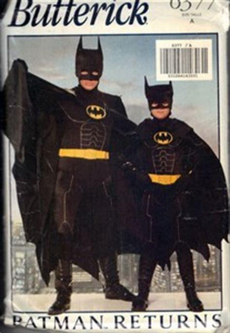 batman pattern trading butterick 6377 a kids batman costume pattern uncut 6377