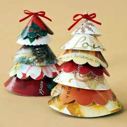 christmas paper crafts ideas for upcycling christmas