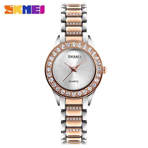 Jam Tangan Terlaris Jam Tangan Wanita Bergaransi Skmei 1147 skmei jam tangan analog wanita 1262 gold jakartanotebook