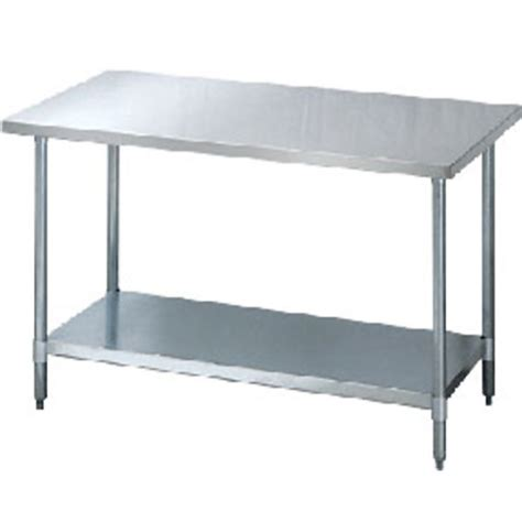 stainless steel utility table catalog stainless steel utility table w shelf kd style