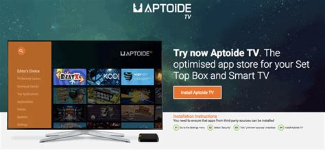 aptoide tv how to install aptoide tv aptoide