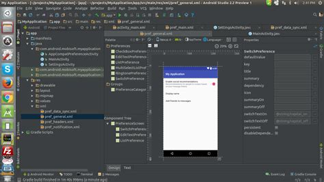 Android Layout Visual Editor | android studio 2 2 preview