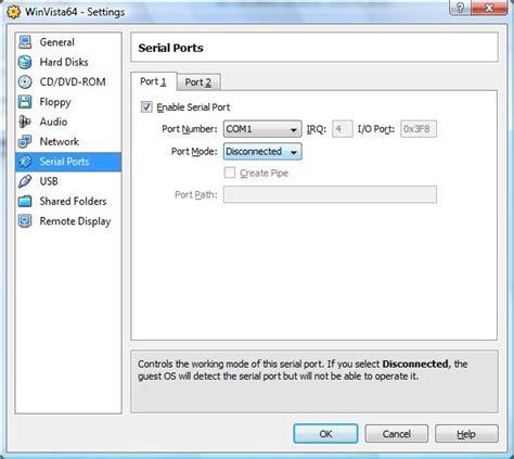 virtualbox parallel port archives nixchocolate