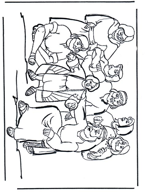 coloring pages for joseph and his brothers joseph forgives his brothers coloring page coloring home