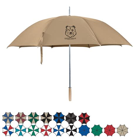 automatic open umbrella 48 quot arc custom printed
