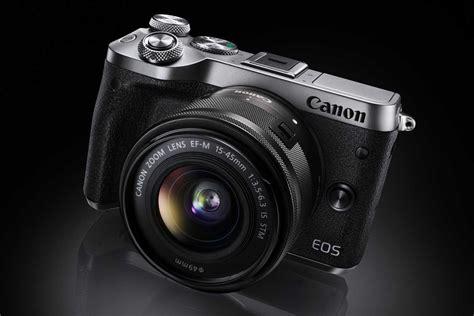 Kamera Canon Eos M6 canon eos m6 fotograferar i 9 bilder per sekund kamera