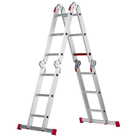 vouwladder 4x3 gamma vouwladder 4x3 treden ladders steigers ladders